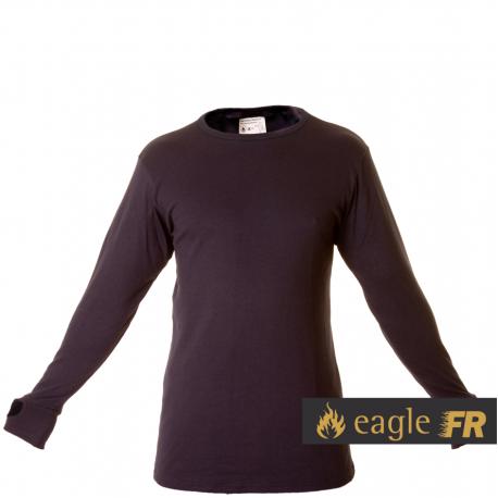 Bielizna podbarierowa trudnopalna Modacrylic FR - koszulka długi rękaw